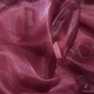 Wine Sheer Organza - LOR10