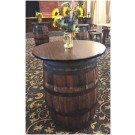 Wooden Barrel Cocktail table - SF22